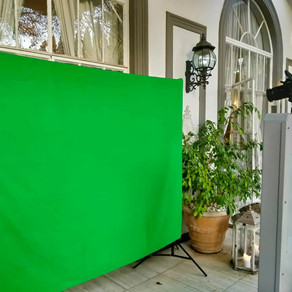 Photo Booth A-Z: G is for Green Screen