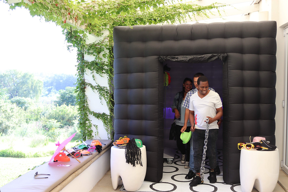 inflatable photo booth johannesburg