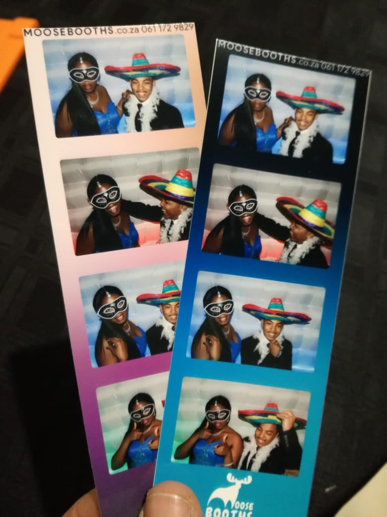 Matric farewell photo booth