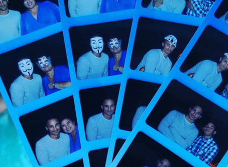 Affordable Photo Booth Pool Party