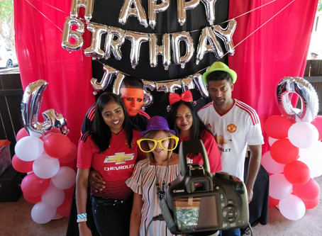 Photo Booth A - Z: B is for Birthdays