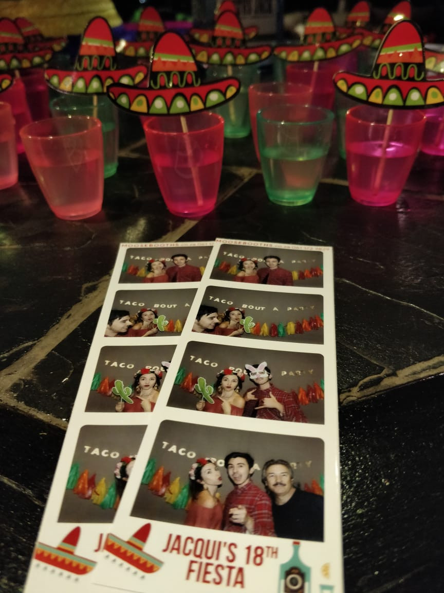 Photo booth Mexican Northcliff