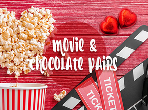 ROMANTIC MOVIE AND CHOCOLATE PAIRS