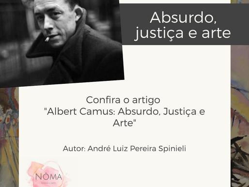 Albert Camus: Absurdo, Justiça e Arte