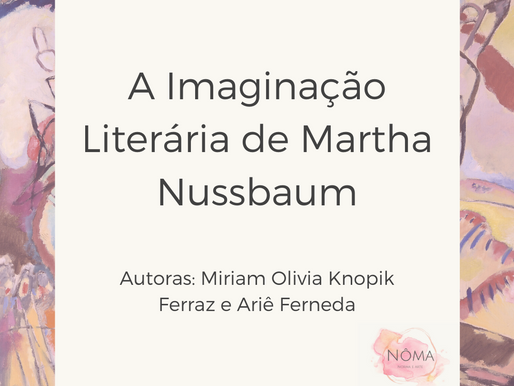 A Imaginação Literária de Martha Nussbaum