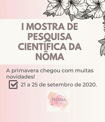I_MOSTRA_DE_PESQUISA_CIENTÍFICA_DO_NÔM