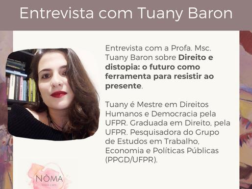 Entrevista com Tuany Baron