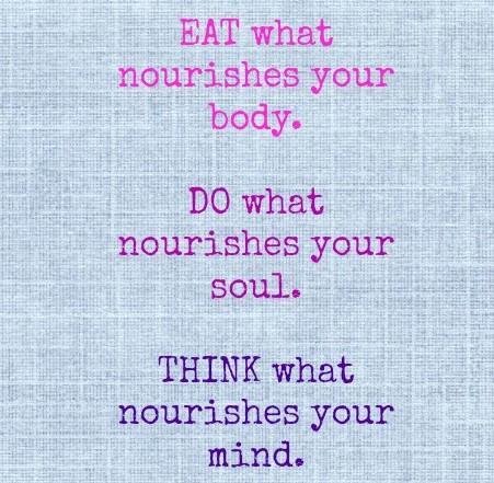 nourish soul body mind