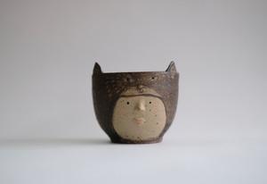 cat-headed girl