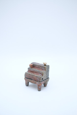 Piano incense burner