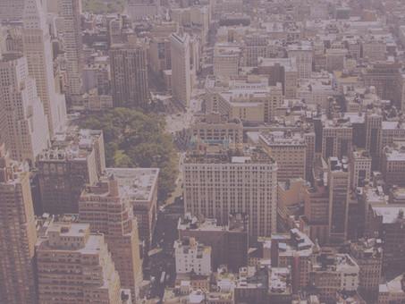 As cidades,  a incerteza e o medo em 2019