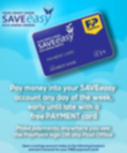 SAVEeasy Credit Union Payment Card
