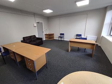 Carmarthen office inside