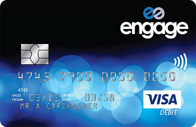 Engage Visa Debit Card