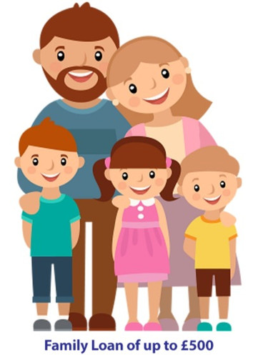 Family Loan of up to £500