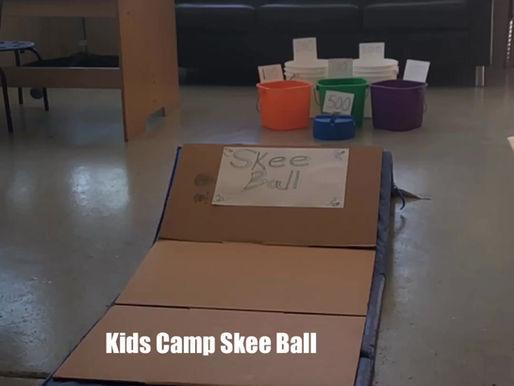 Kids Camp Skee Ball