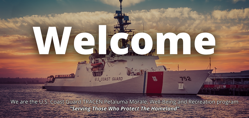We are the U.S. Coast Guard TRACEN Petaluma Morale, Well-Being and Recreation program.png