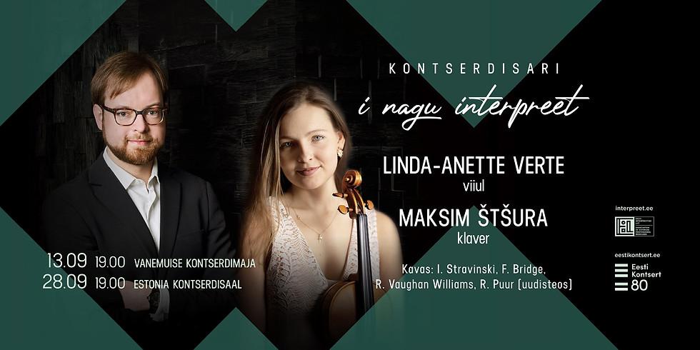 Linda-Anette Verte/Maksim Štšura