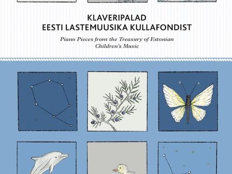 """Uus noot """"Klaveripalad Eesti lastemuuska kullafondist"""""""