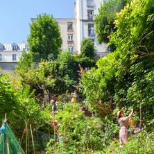 Jardin du Sacré-Cœur Studio vue générale 3
