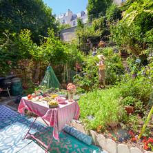 Jardin du Sacré-Cœur Studio vue générale