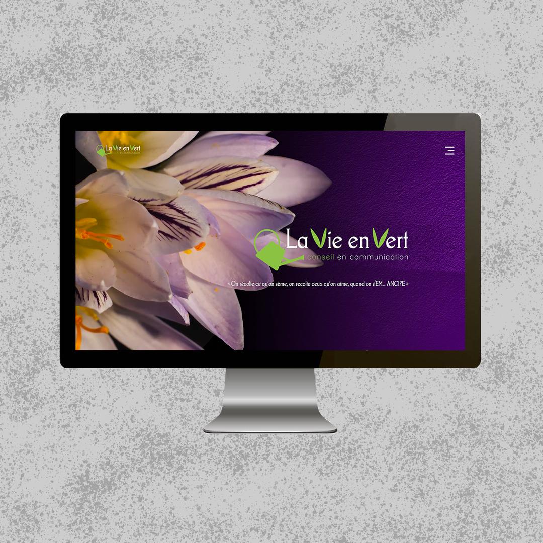 "Site web ""La Vie en vert"""