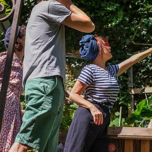 Jardinage au Sacré-Cœur Studio