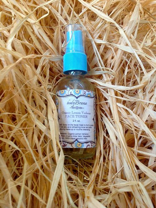 Organic Lemon Verbena Activator & Face Toner