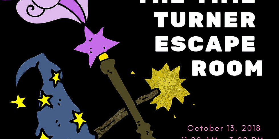 Tale of the Time Turners Escape Room - 1:00 PM