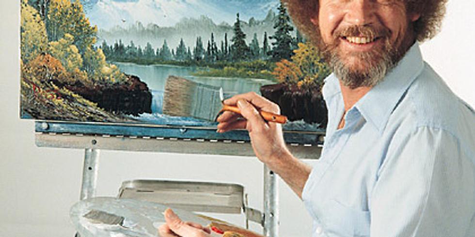 Bob Ross Paint Along