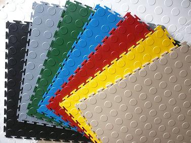 Galklant Garage Flooring Interlock Color