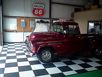 Gallant Garage Interlock Flooring Red tr