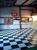 Houston Interlock flooring gallant garage