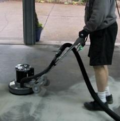 Garage floor Prep Houston Gallant Garage