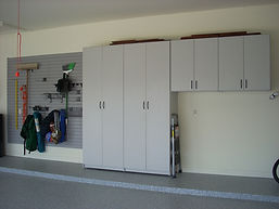 Gallant Garage Cabinets and storage side