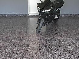Gallant Garage Epoxy Flooring Motorcycle
