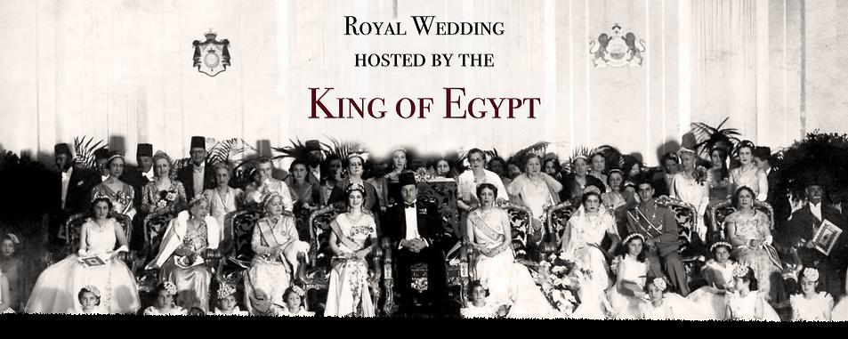 Royal Menus - king egypt - shah iran - f