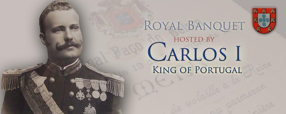 Royal Menus - King of Portugal - 1903.pn