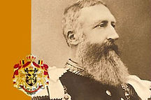 Royal Menus - King Leopold II - Belgium.