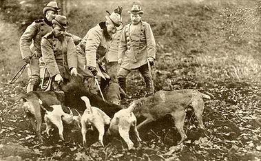 Kaiser Wilhelm II Boar Hunt - hofjager.j