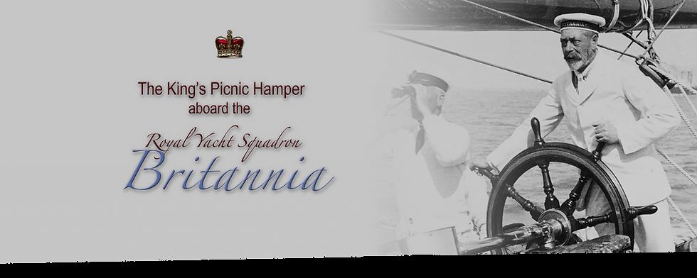 Royal Menus - George V - Britannia yacht