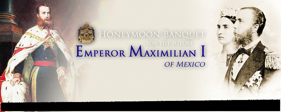 Royal Menus - Emperor Maximilian I of Me