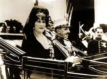 Royal Menus - Alfonso XIII and Queen Vic