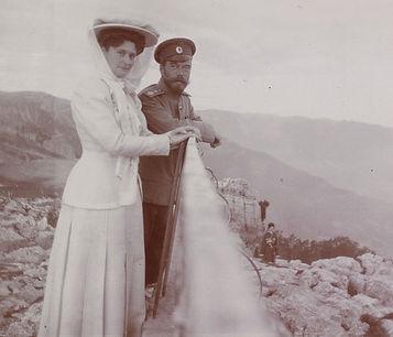 Royal Menus - Livadia - Tsar and Tsarina