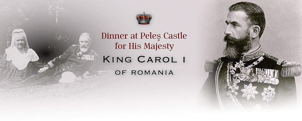 Royal Menus - king romania - peles castl