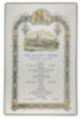 royal menus - tsar engagement - windsor