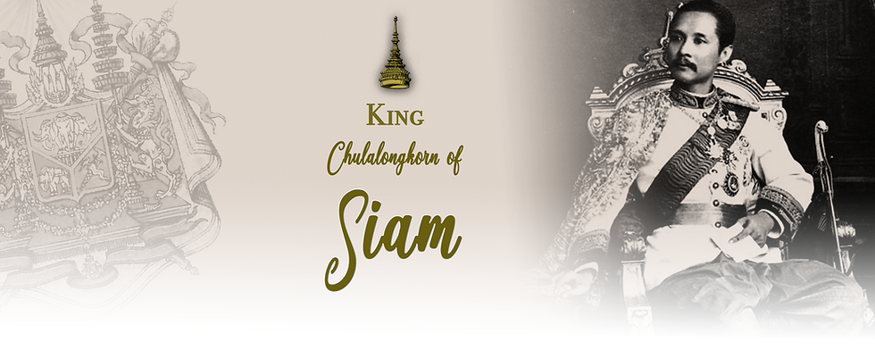 Royal Menus - king siam - dinner 1910.pn