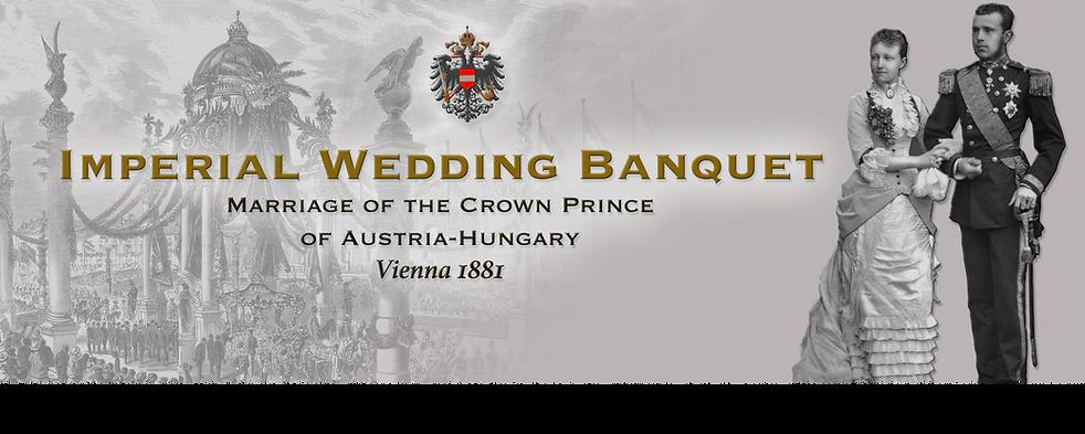 Royal Menus - vienna - 1881 - crown prin