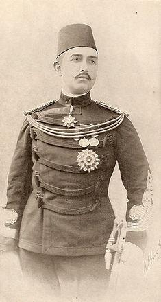 Royal Menus - Abbas II - Khedive of Egyp