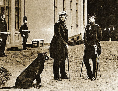 Royal Menus - Bismarch and the Kaiser.jp
